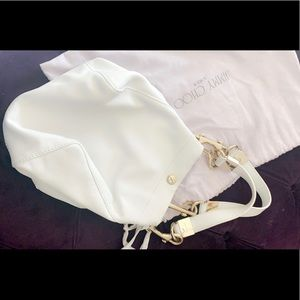 Jimmy Choo exotic authentic hand bag.